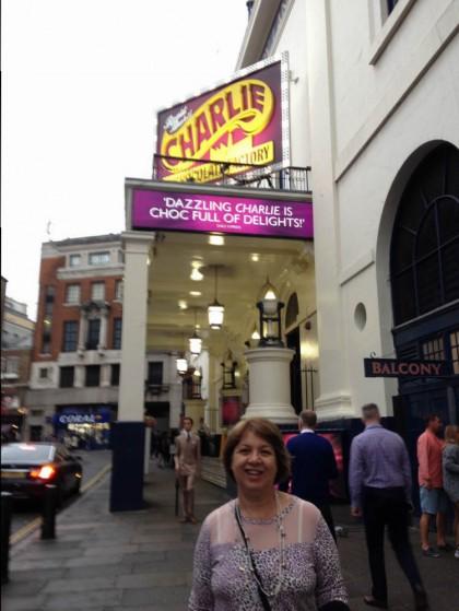 Musical Londres Fantástica Fábri ca de Chocolates
