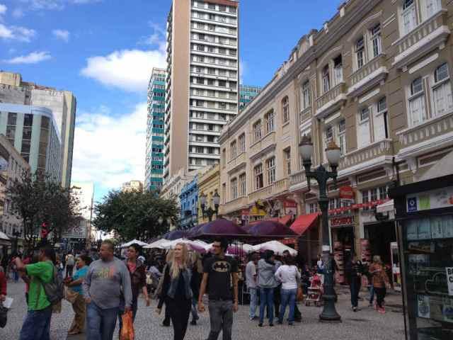 Ruas das Flores Curitiba