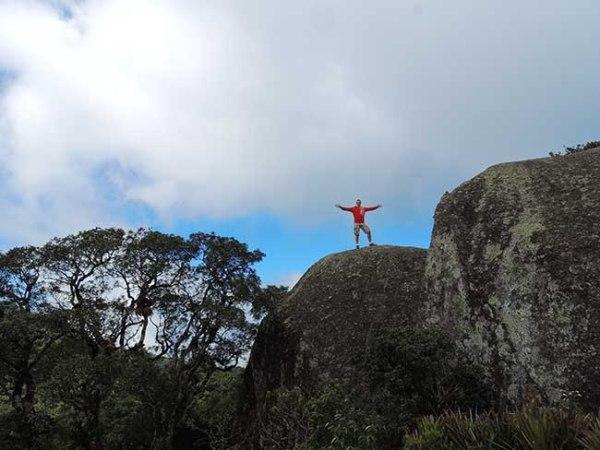 Em cima da Pedra Redonda