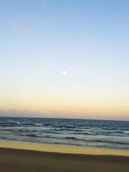 Lua cheia em Maraú