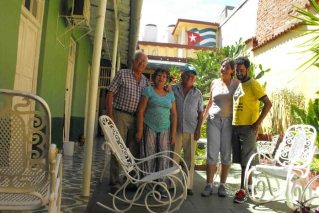 Mergulho em Cuba, casa de família em Trinidad
