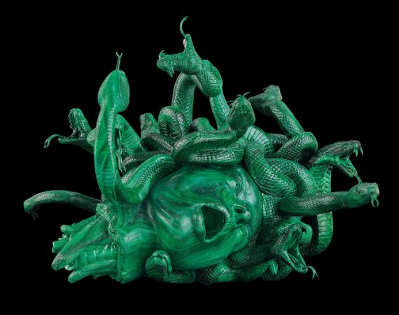 """The Severed Head of Medusa,"" said to be priced at $4 million. Credit Damien Hirst and Science Ltd. All rights reserved, Artists Rights Society (ARS), New York, 2017; Photograph by Prudence Cuming Associates"