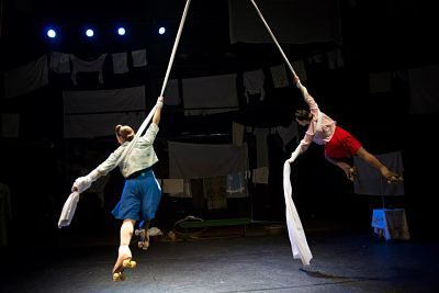 Hire Book Trapeze Amp Tight Rope Acts Contraband Events