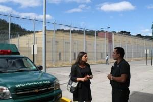 Fiscal Esquivel se constituye en la carcel de Valdivia