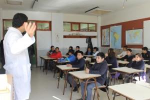 niños a clases