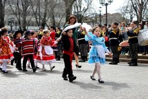desfiles de niños