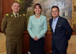Reunion Director Carabineros y Alcalde Reyes