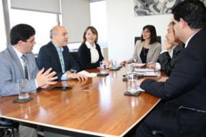 Reunión con Ministra Natalia Riffo