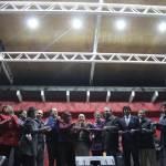 Autoridades regionales y vecinos inauguraron Casa de la Cultura y anfiteatro en La Unión