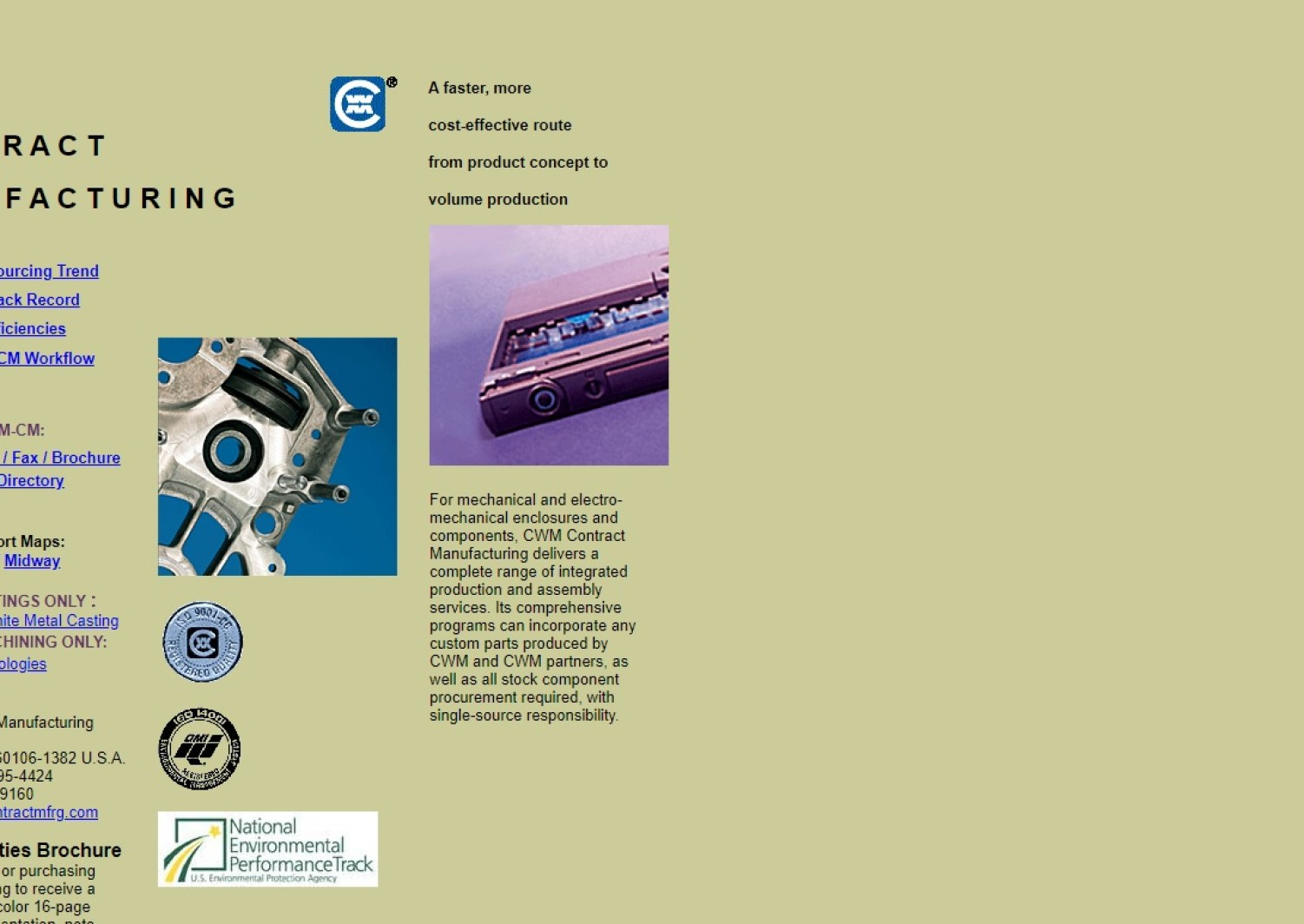 Contract Manufacturing Companies Contract Manufacturer