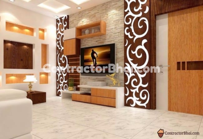 Fresh Ideas To Decorate Your Living Rooms ContractorBhai