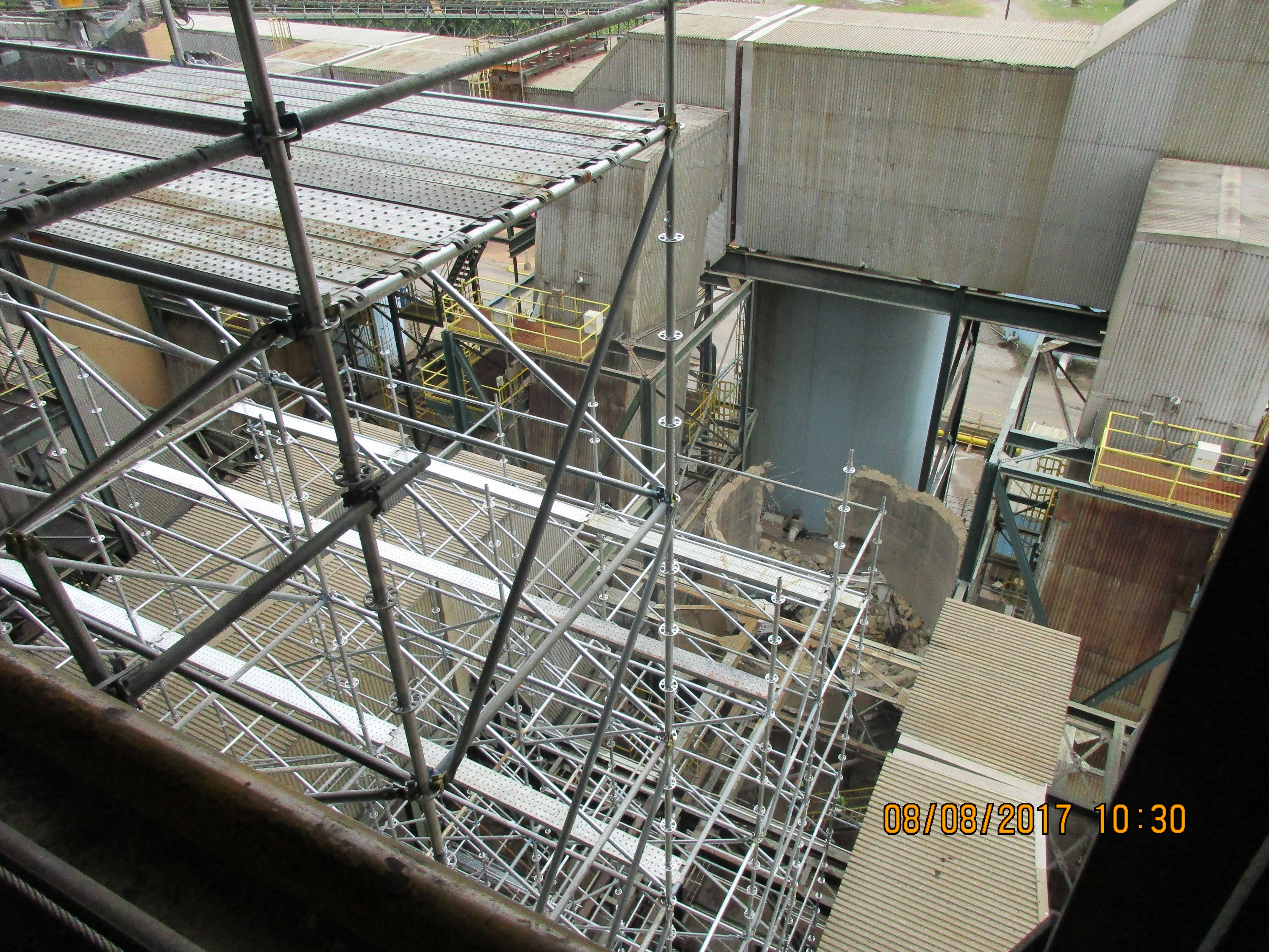 GC Industrial Plant Scaffold 3