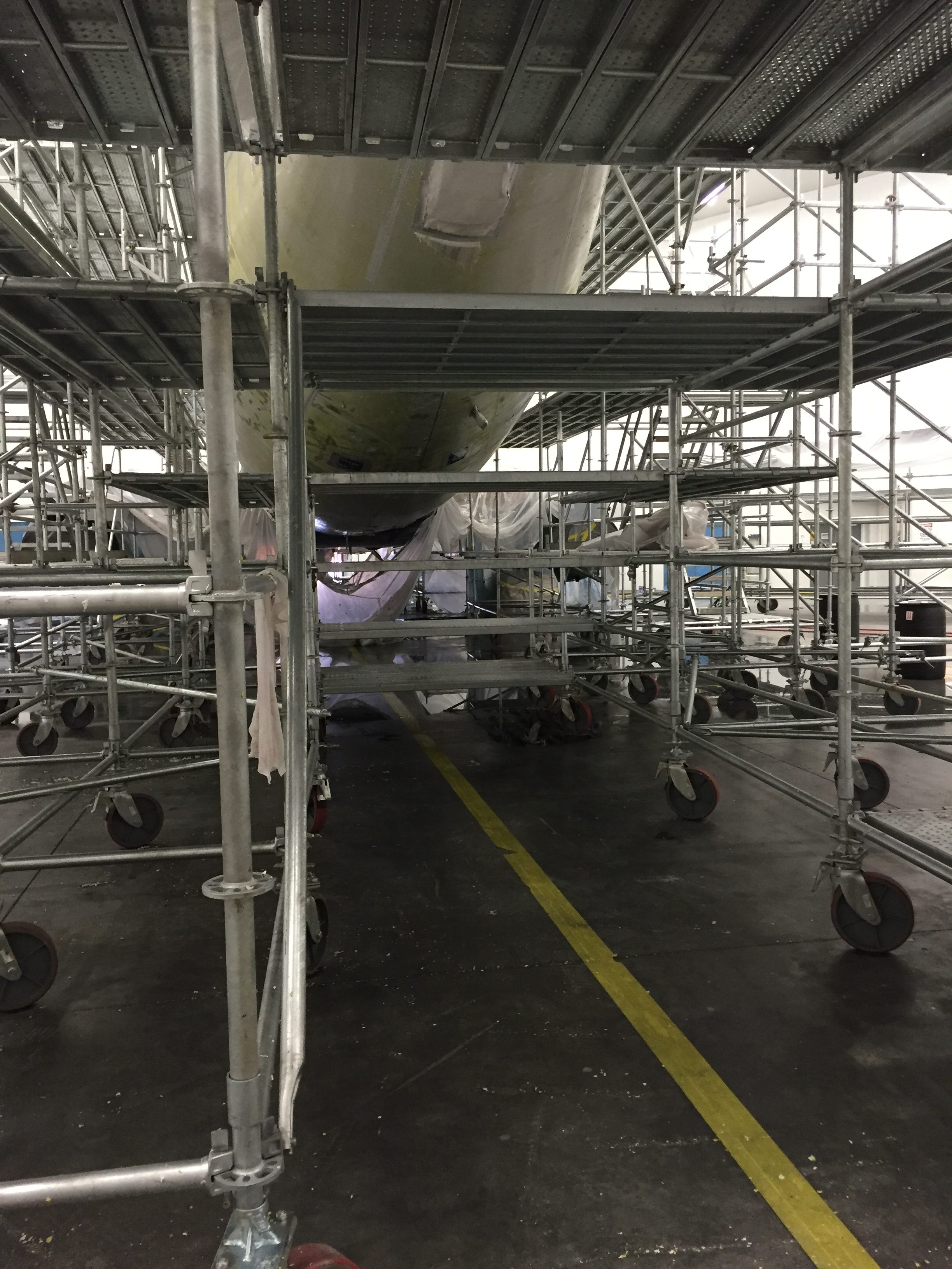 A320 Jet Planes Scaffold 1