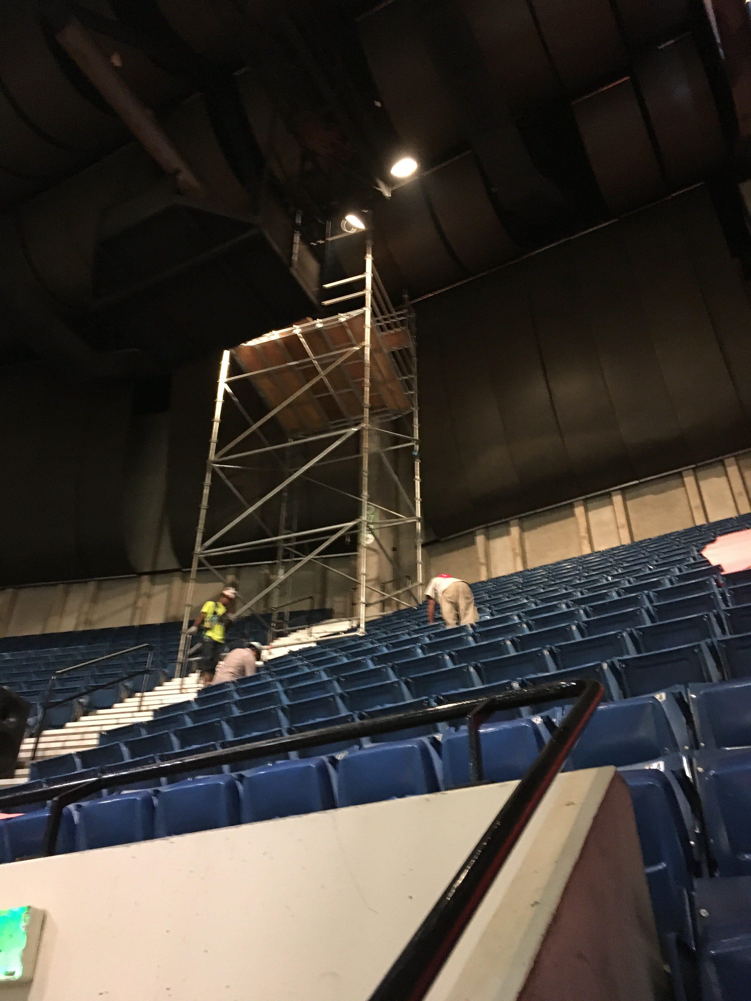 BJCC scaffold tower