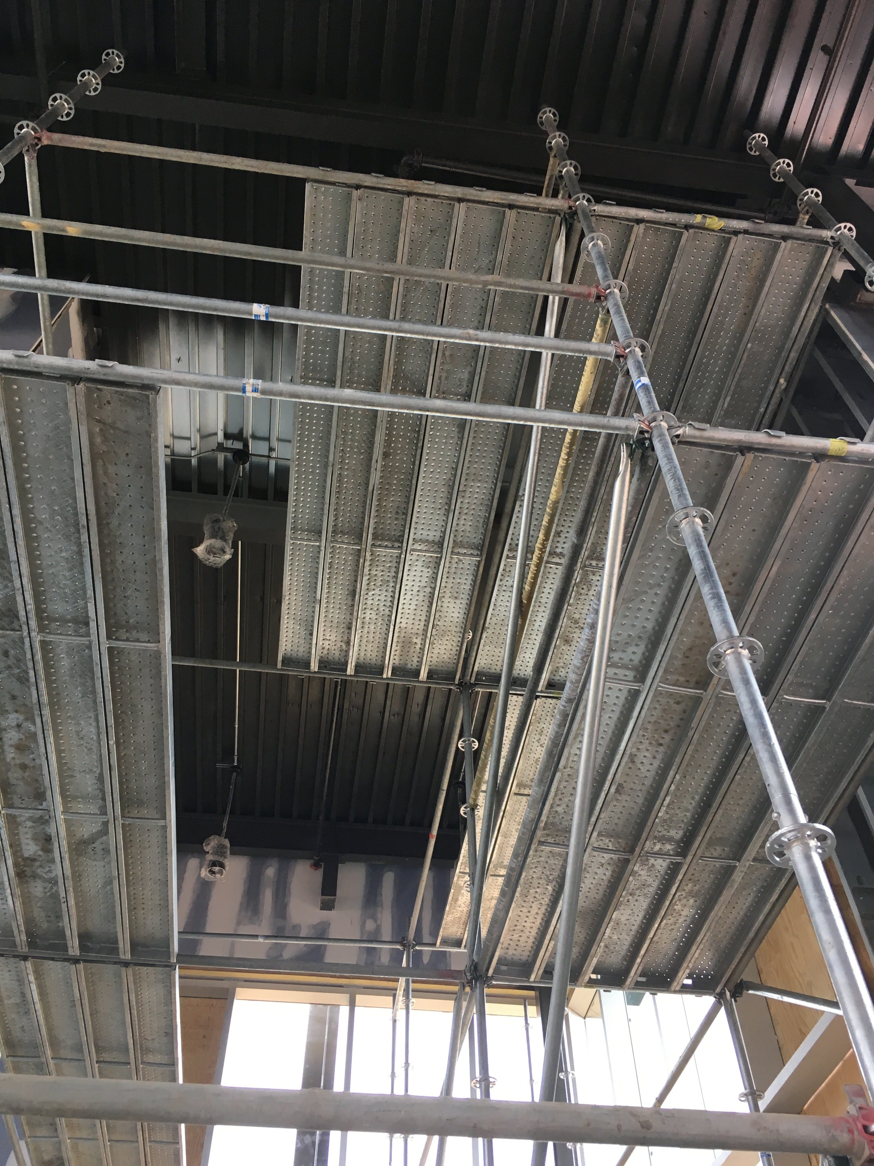 Top Golf Stairwell scaffold 7