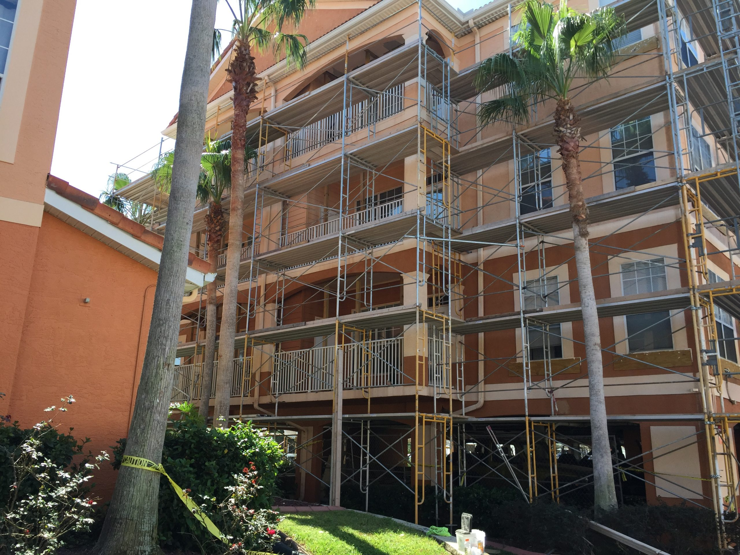Culbreath Key Restoration Scaffold 2