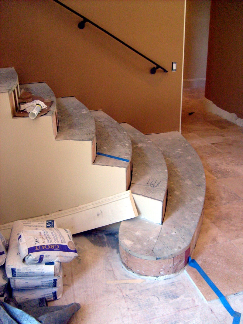 Hickory Stair Treads Flooring Contractor Talk | Prefinished Hickory Stair Treads And Risers | Stair Parts | Hickory Natural | Stairtek | Natural Prefinished | Oak Stair Nosing