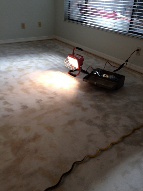 How To Remove Glued Carpet From Concrete Www