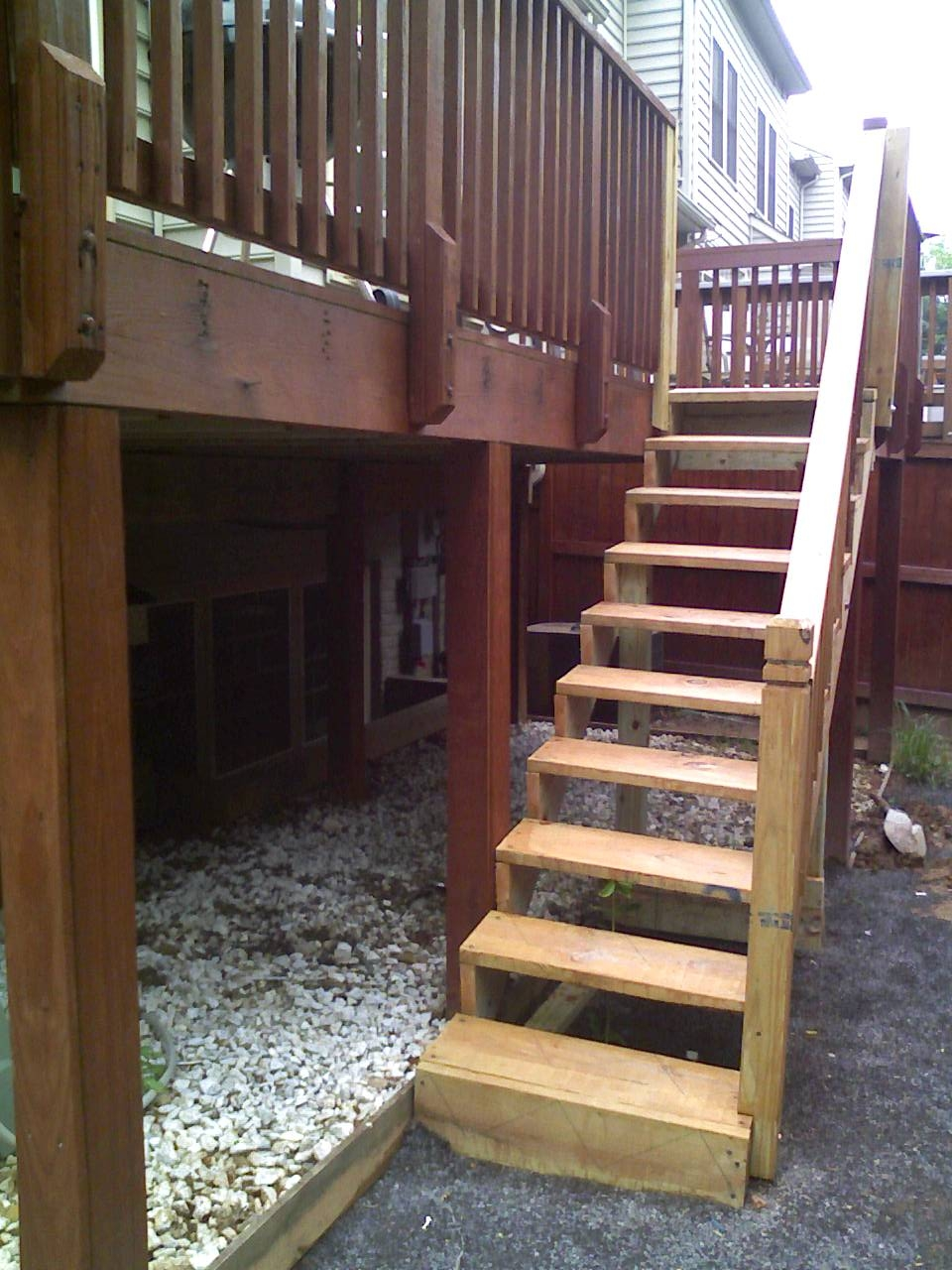 Deck Stair Treads Page 2 General Discussion Contractor Talk | Outdoor Deck Stair Treads | Composite Deck | Stringer | Pressure Treated Wood | Stair Stringer | Metal