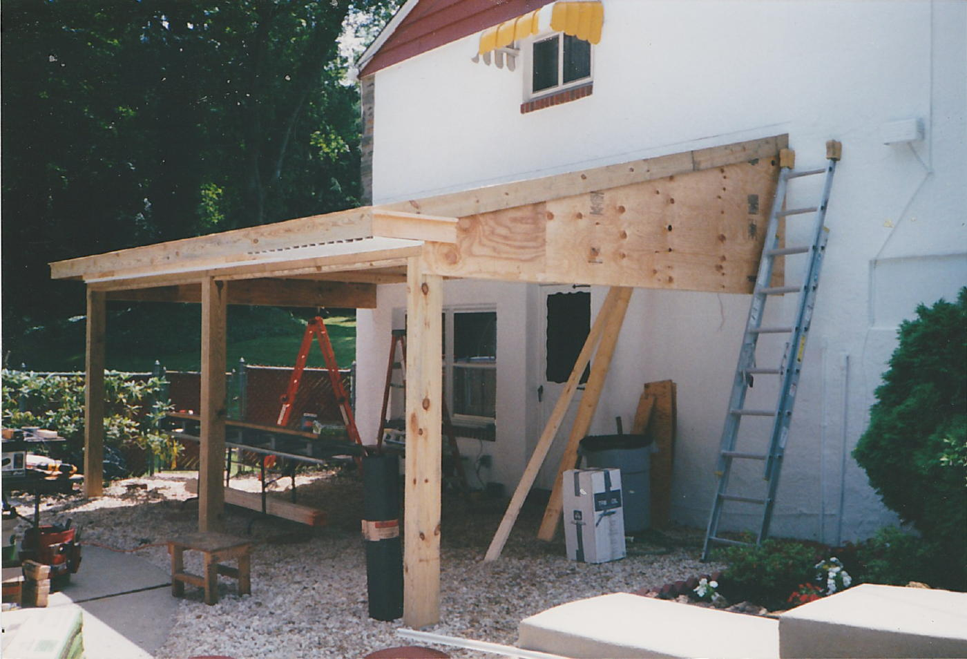 What Would You Call A Roof Over A Patio? - Architecture ... on Roof For Patio Ideas id=57910