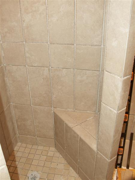 Bluestone Shower Bench Masonry Contractor Talk