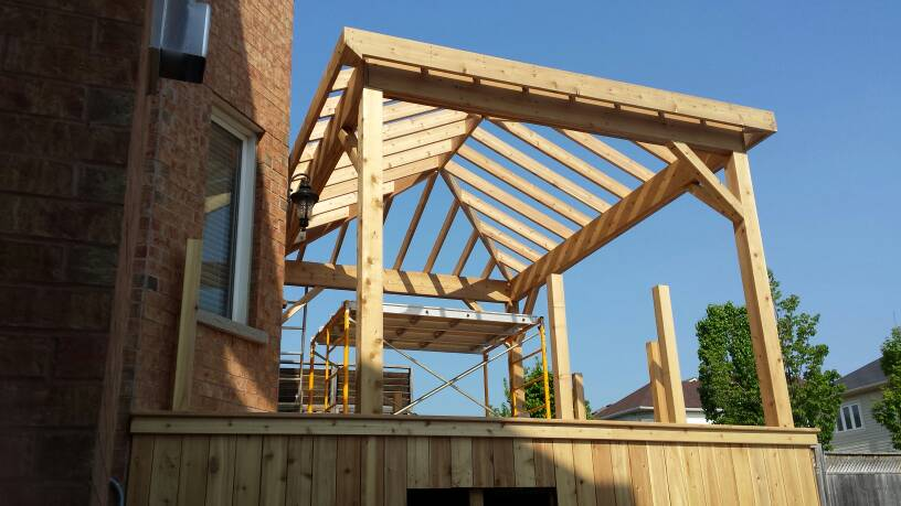 Framing cathedral ceiling hip roof for How to build a house without a contractor