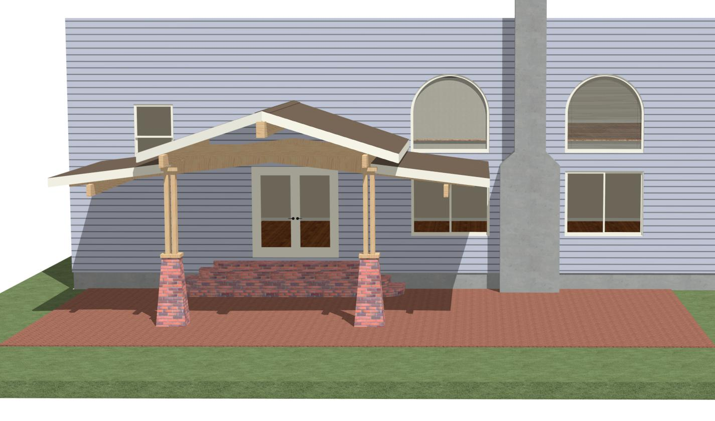 Help With Ideas, Patio Roof - Page 2 - Carpentry ... on Roof For Patio Ideas id=85034