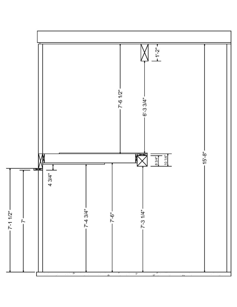 Minimum ceiling height for Rv garage door dimensions