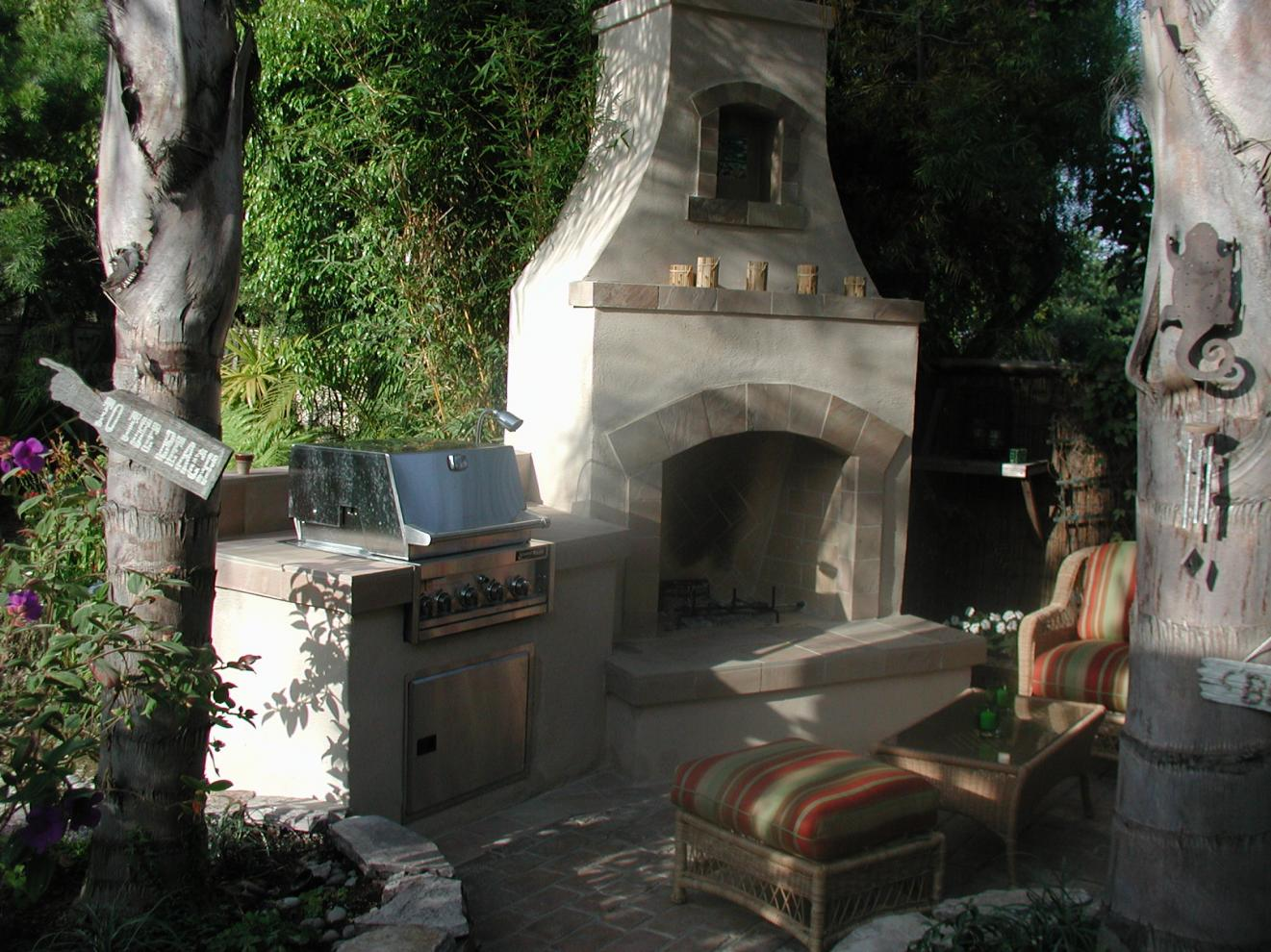 Out Door Fireplace Kits