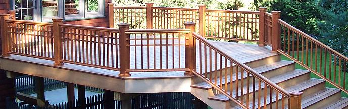 Deck Railing 45 Degree Corner