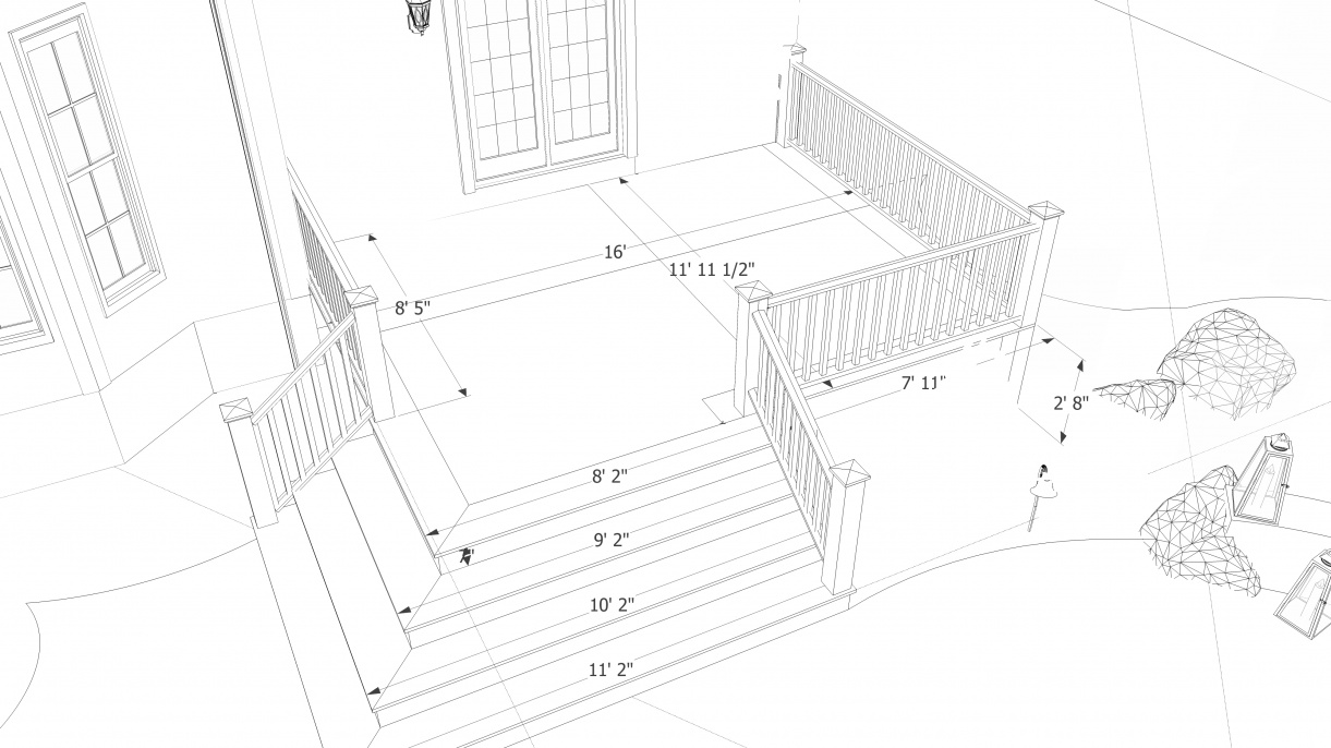 Opinion on deck framing decks fencing contractor talk