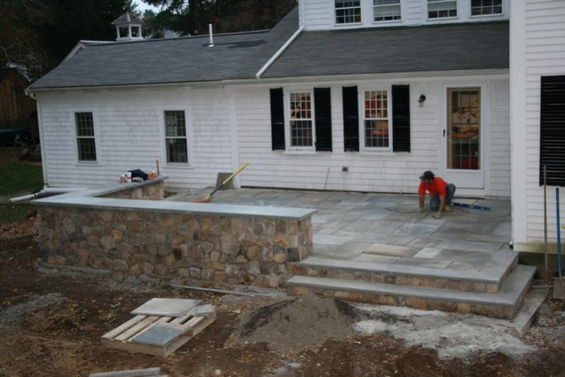Raised Patio - Masonry Picture Post - Contractor Talk on Raised Concrete Patio Ideas id=87978