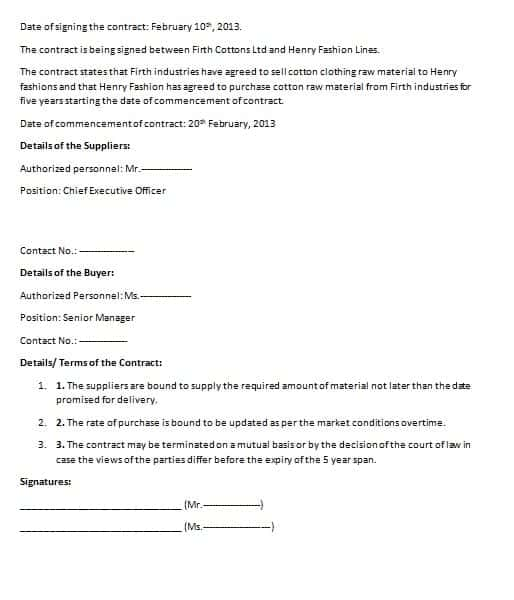 time and materials contract template download - free contract templates word pdf agreements