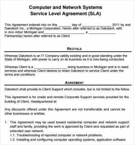 computer-service-contract-template