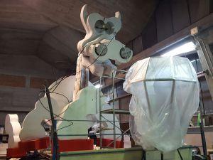 Lumino, il draghetto lanternino - Carnevale Pietrasantino 2017