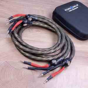 WireWorld Gold Eclipse 7 highend audio speaker cables 2,5 metre 1