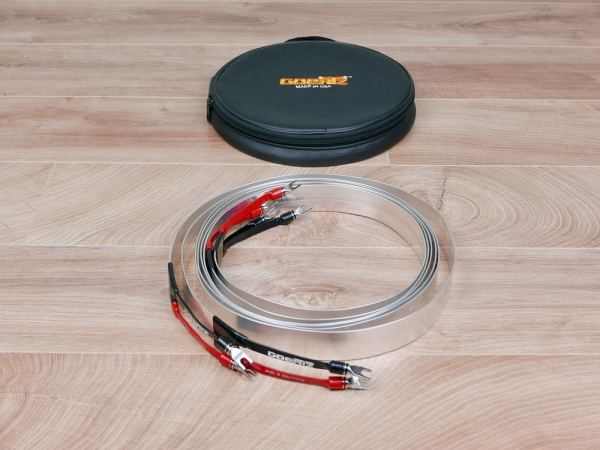 Goertz Alpha Core AG-3 Divinity highend audio speaker cables 2,5 metre 1