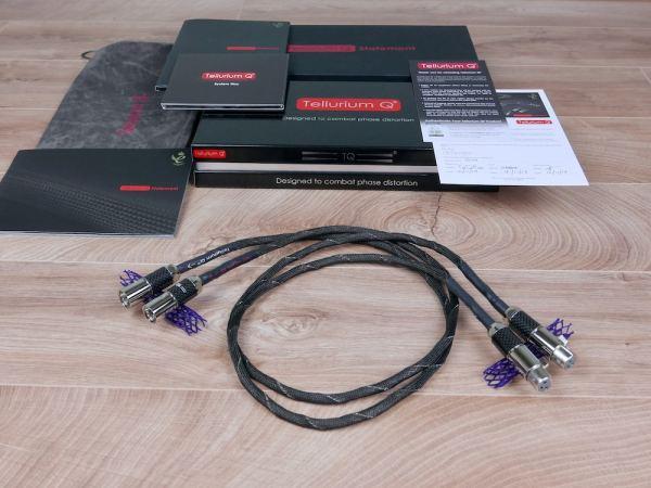 Tellurium Q Statement highend audio interconnects XLR 1,0 metre 11