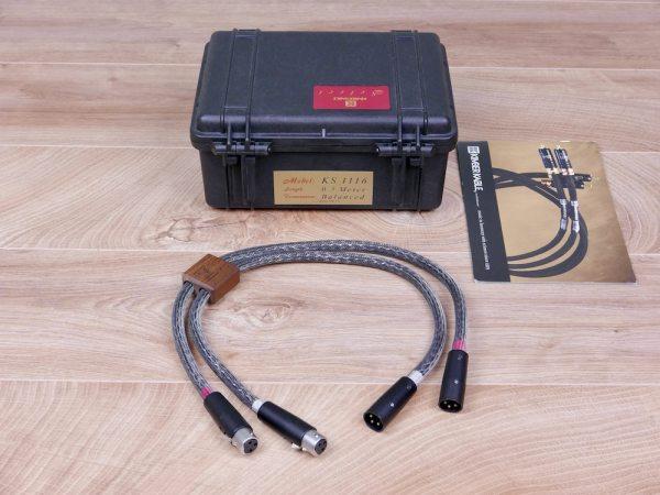 Kimber Kable Select KS-1116 audio interconnects XLR 0,5 metre 1