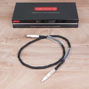 Tellurium Q Silver Diamond highend audio USB cable 1,0 metre 1