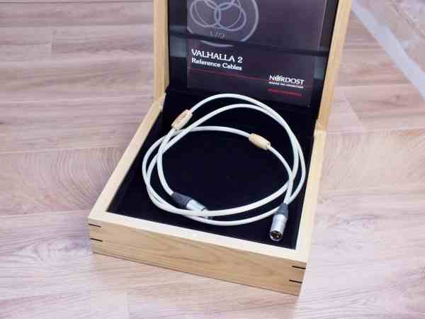 Nordost Valhalla 2 highend digital audio interconnect XLR 2,0 metre 1