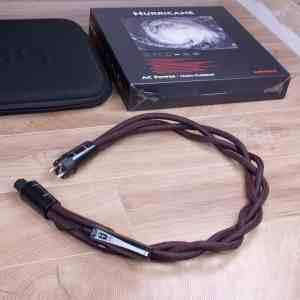 AudioQuest Hurricane High Current audio power cable C15 1,0 metre 1