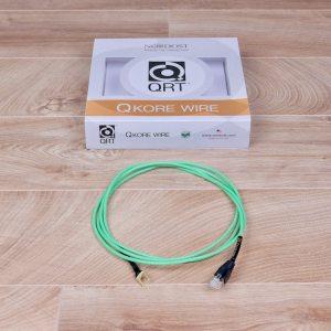 QRT Quantum QKORE Wire audio RJ:E ethernet-spade 2,0 metre by Nordost 1