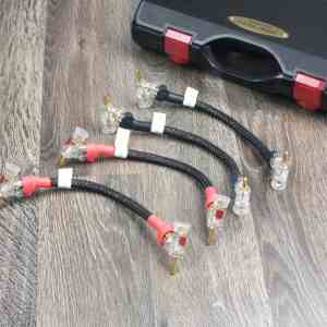 Jorma Design Prime highend audio speaker cable jumpers 15cm 1