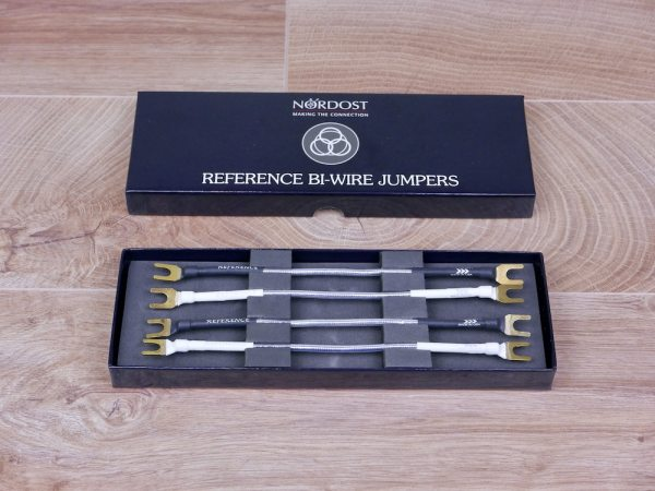 Nordost Reference Bi-Wire audio speaker cable jumpers 1