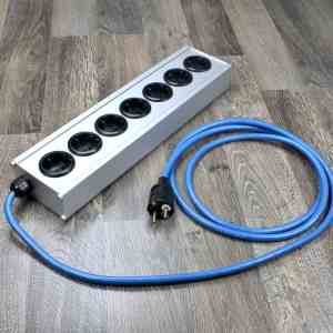 Groneberg Silver 7 audio power strip 2,5 metre Quattro Reference 1