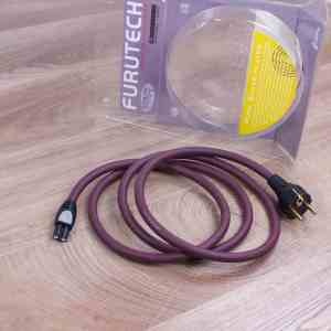 Furutech G-320Ag-18F8E audio power cable Figure-8 C7 1,8 metre 1