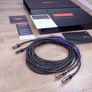 Tellurium Q Statement highend audio interconnects XLR 5,0 metre 1
