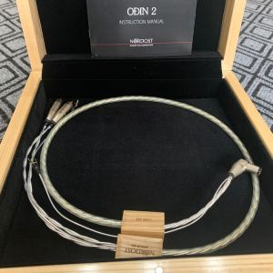 Nordost Odin 2 Supreme Reference highend Phono audio interconnect RCA-DIN 1,25 metre 1