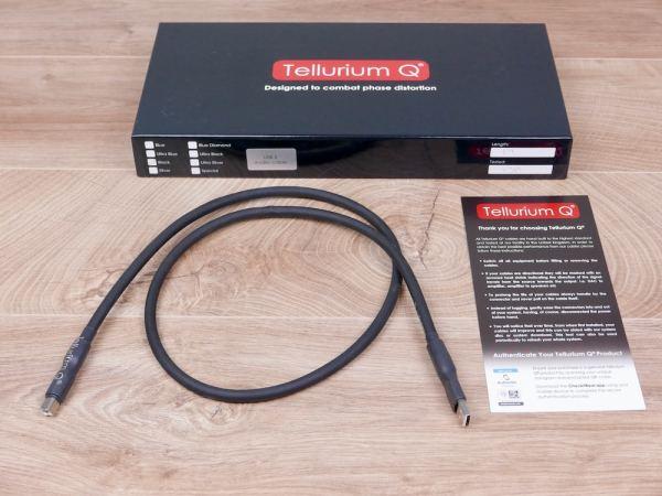 Tellurium Q Black audio USB cable (type A to B) 1,0 metre 1